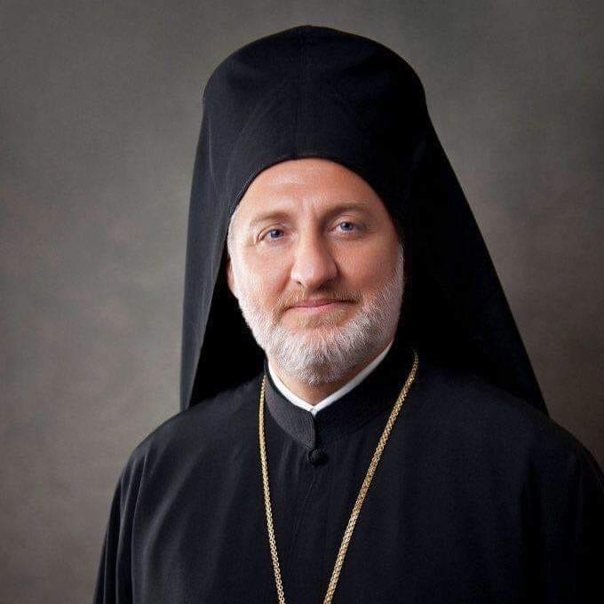 His Eminence Archbishop Elpidophoros (Lambriniadis), Geron of America