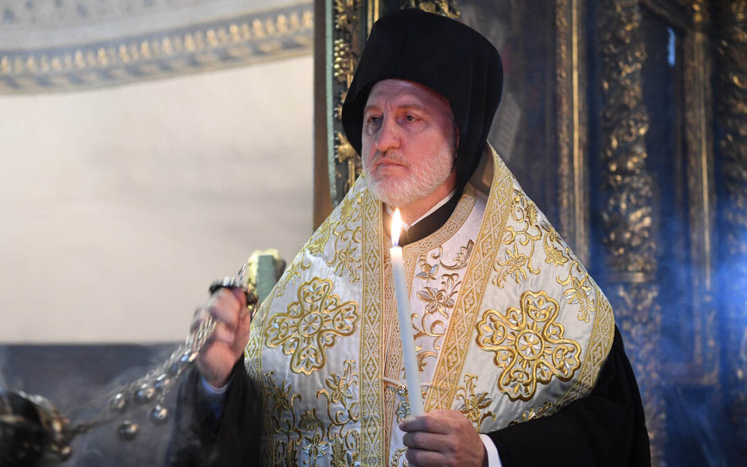 Encyclical of His Eminence Archbishop Elpidophoros of America and the Eparchial Synod on the Covid-19 Pandemic (Coronavirus)